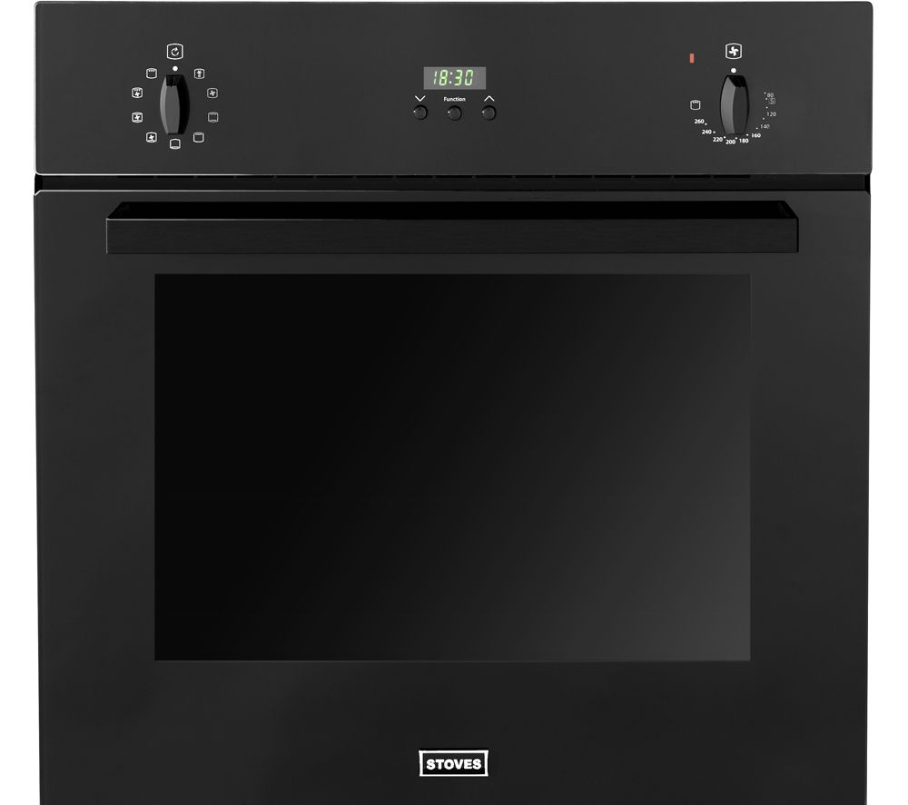 STOVES 444440825 Electric Oven - Black
