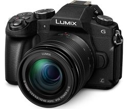 PANASONIC Lumix DMC-G80 Mirrorless Camera with 12-60 mm f/3.5-5.6 Lens - Black