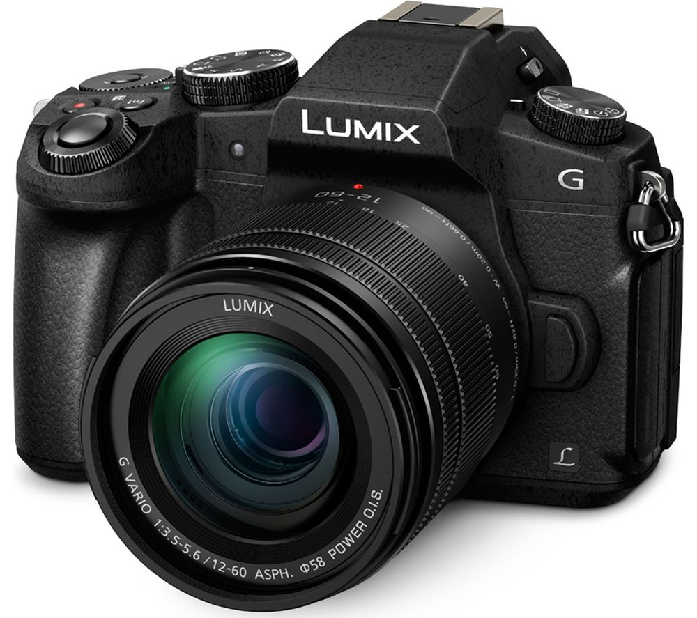 0138ac63c3 Buy PANASONIC Lumix DMC-G80 Mirrorless Camera with 12-60 mm f 3.5-5.6 Lens  + PHKP001 Tripod - Black