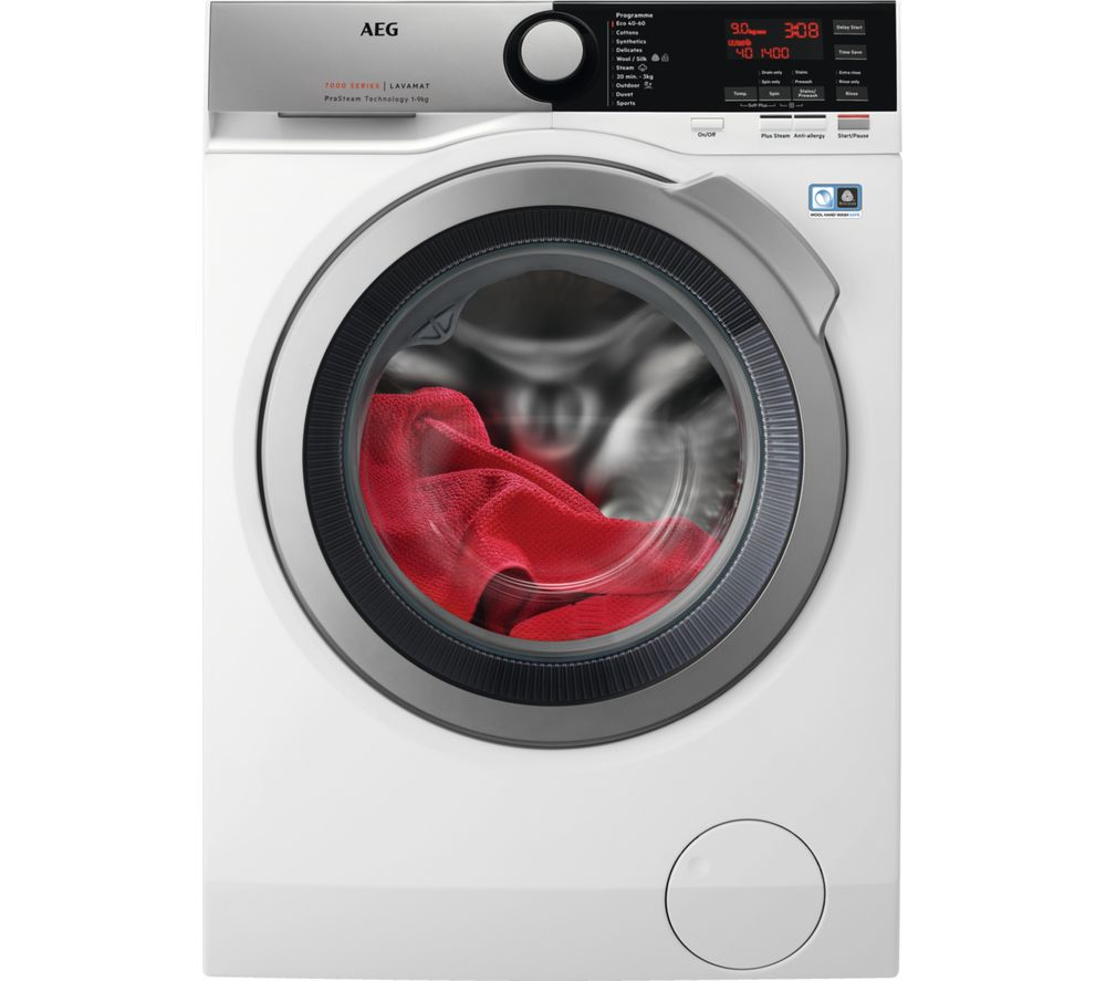 AEG ProSteam L7FEE965R Washing Machine - White