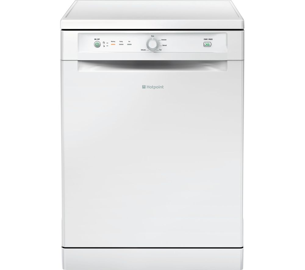 HOTPOINT FDAB 10110 P Full-size Dishwasher - White