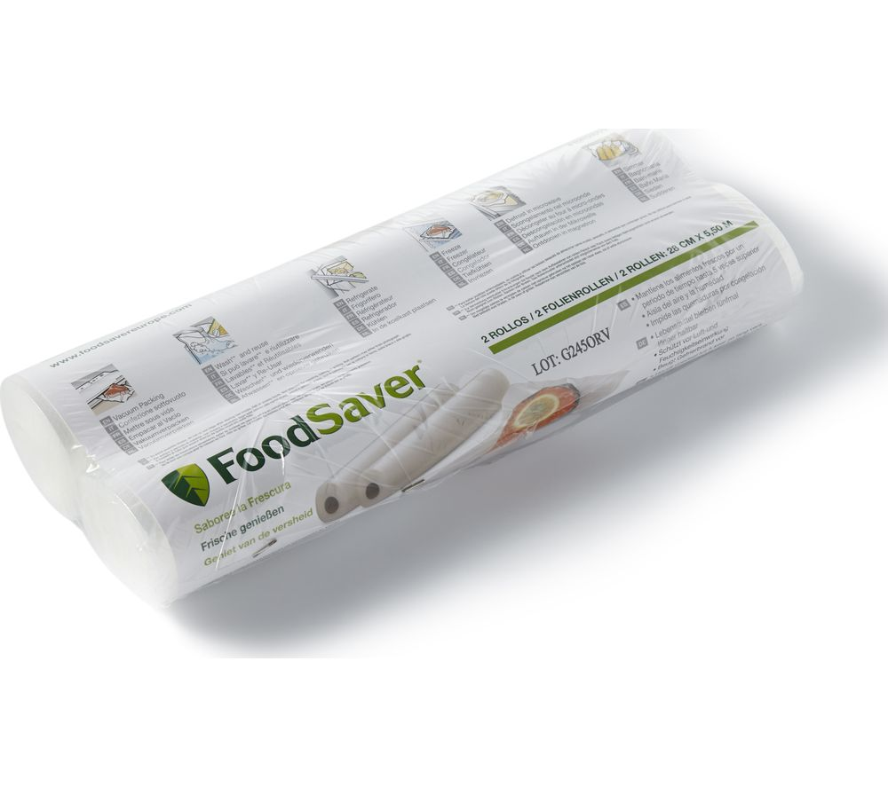 Compare retail prices of Foodsaver Vacuum Food Storage Rolls to get the best deal online