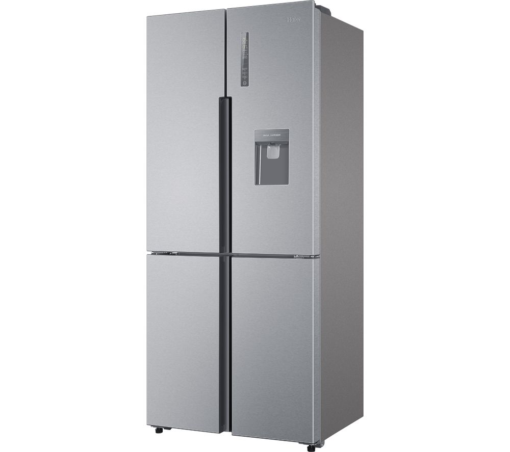 HAIER HTF-452WM7 60/40 Fridge Freezer - Stainless Steel