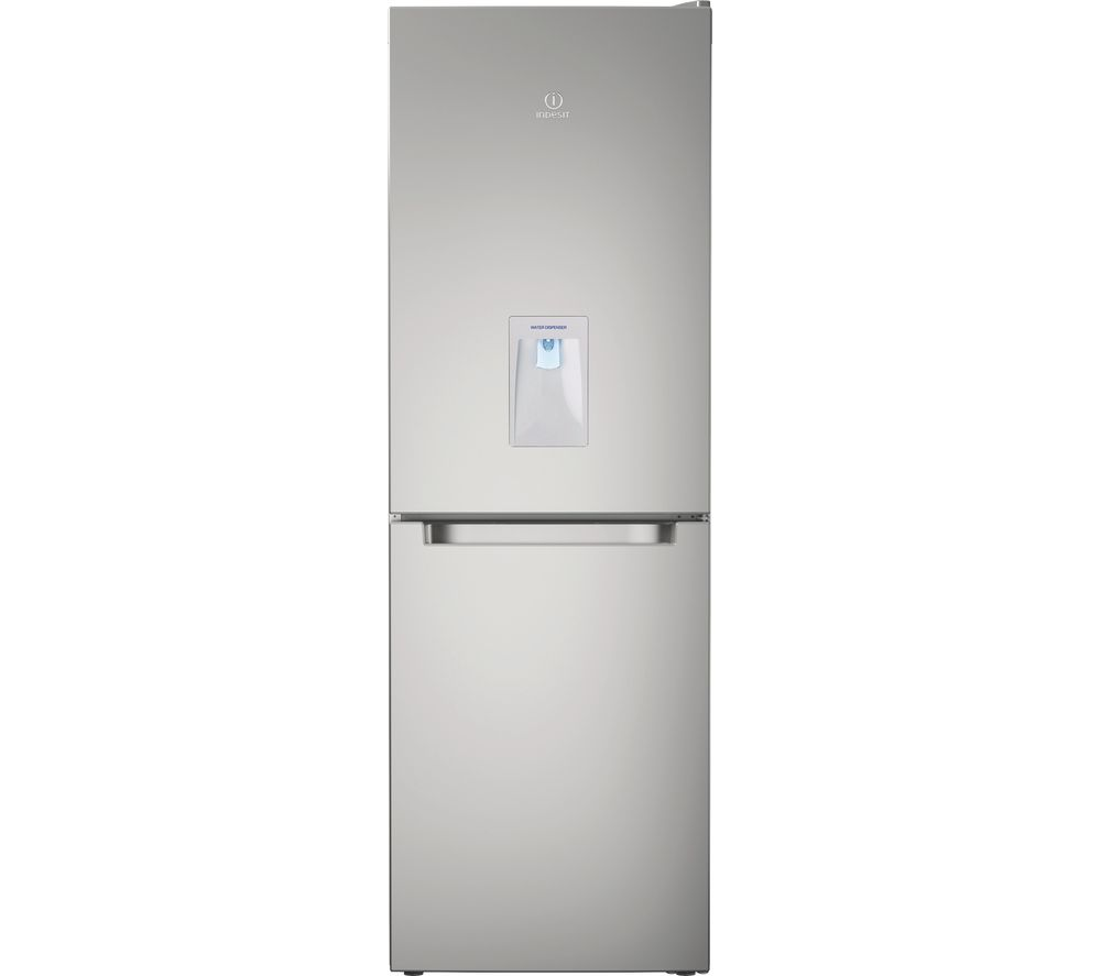 INDESIT LD70 N1S WTD 60/40 Stainless Steel Fridge Freezer - Inox