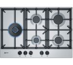 NEFF T27DS79N0 Gas Hob - Stainless Steel
