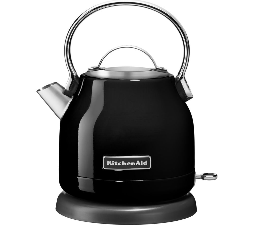 KITCHENAID 5KEK1222BOB Traditional Kettle - Onyx Black, Black