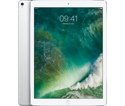 "APPLE 12.9"" iPad Pro - 256 GB, Silver (2017)"