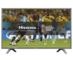 "HISENSE H55N5700UK 55"" Smart 4K Ultra HD LED TV - Grey"