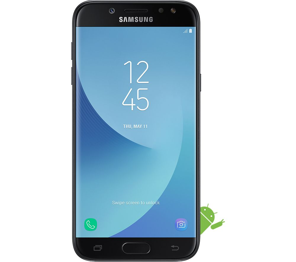 buy samsung galaxy j5 16 gb black free delivery currys. Black Bedroom Furniture Sets. Home Design Ideas