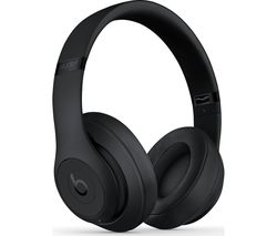 BEATS Studio 3 Wireless Bluetooth Noise-Cancelling Headphones - Black