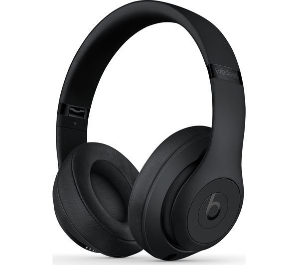 a67fd4a4e8f BEATS Studio 3 Wireless Bluetooth Noise-Cancelling Headphones - Black