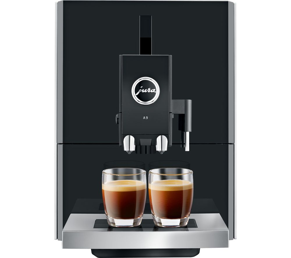 JURA A9 Bean to Cup Coffee Machine – Aluminium