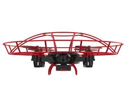 AURA GestureBotics C17800 Drone With Controller - Black & Red