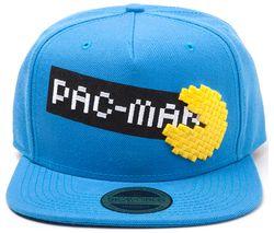 PAC-MAN Pixel Logo Snapback Cap - Blue