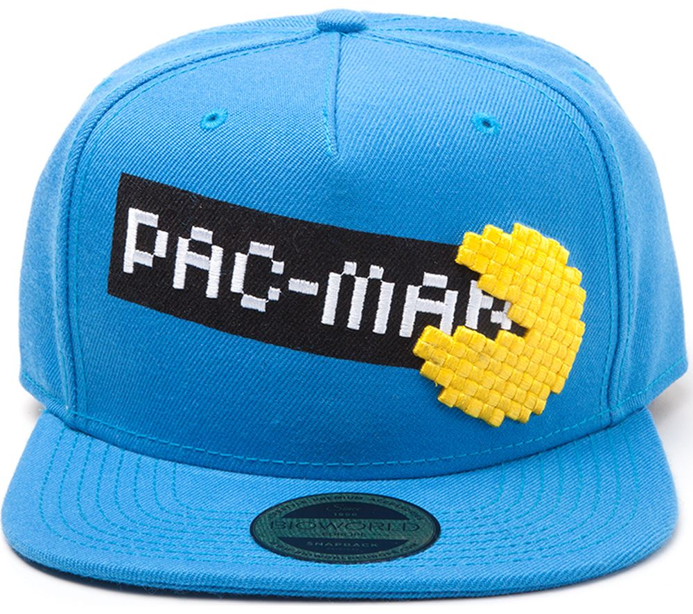 Compare prices for Pac MAN Pixel Logo Snapback Cap