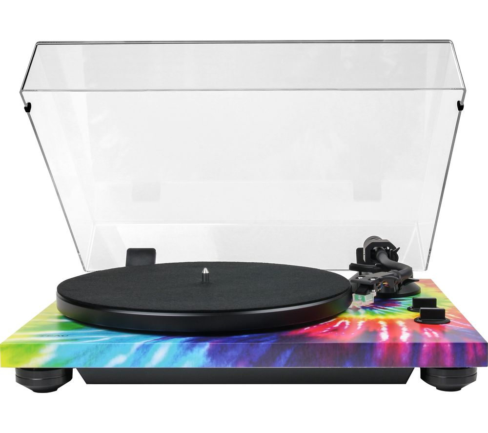 TEAC TN-420 Belt Drive Bluetooth Turntable - Tie-Dye