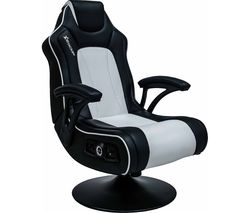 X ROCKER Torque 2.1 Wireless Gaming Chair - Black & White
