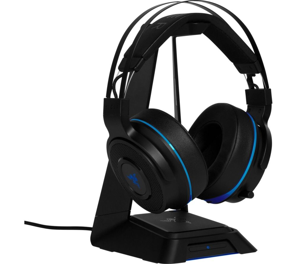 RAZER Thresher Ultimate Wireless 7.1 Gaming Headset - Black & Blue