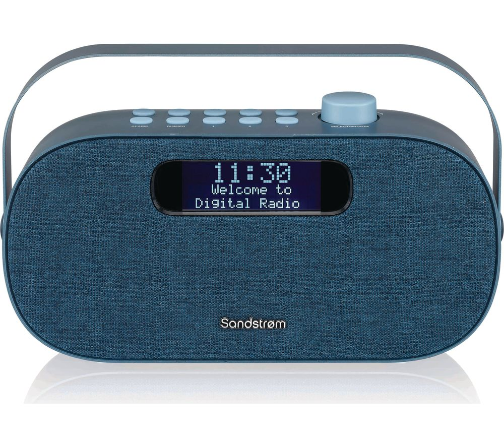 Image of SANDSTROM SF-DABA18 Portable DABﱓ Bluetooth Radio - Blue, Blue