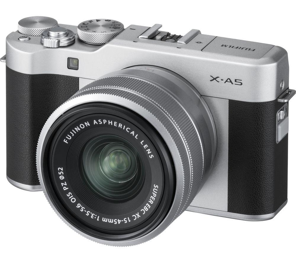 FUJIFILM X-A5 Mirrorless Camera with FUJINON XC 15-45 mm f/3.5-5.6 OIS PZ Lens