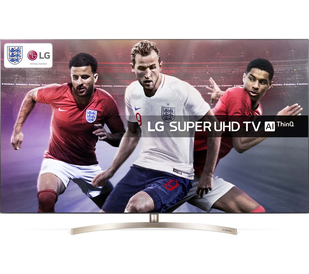 "55"" LG 65SK9500PLA Smart 4K Ultra HD HDR LED TV - Bronze, Bronze"