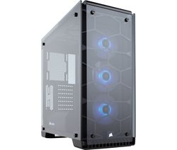 CORSAIR Crystal Series 570X RGB Mid-Tower ATX PC Case