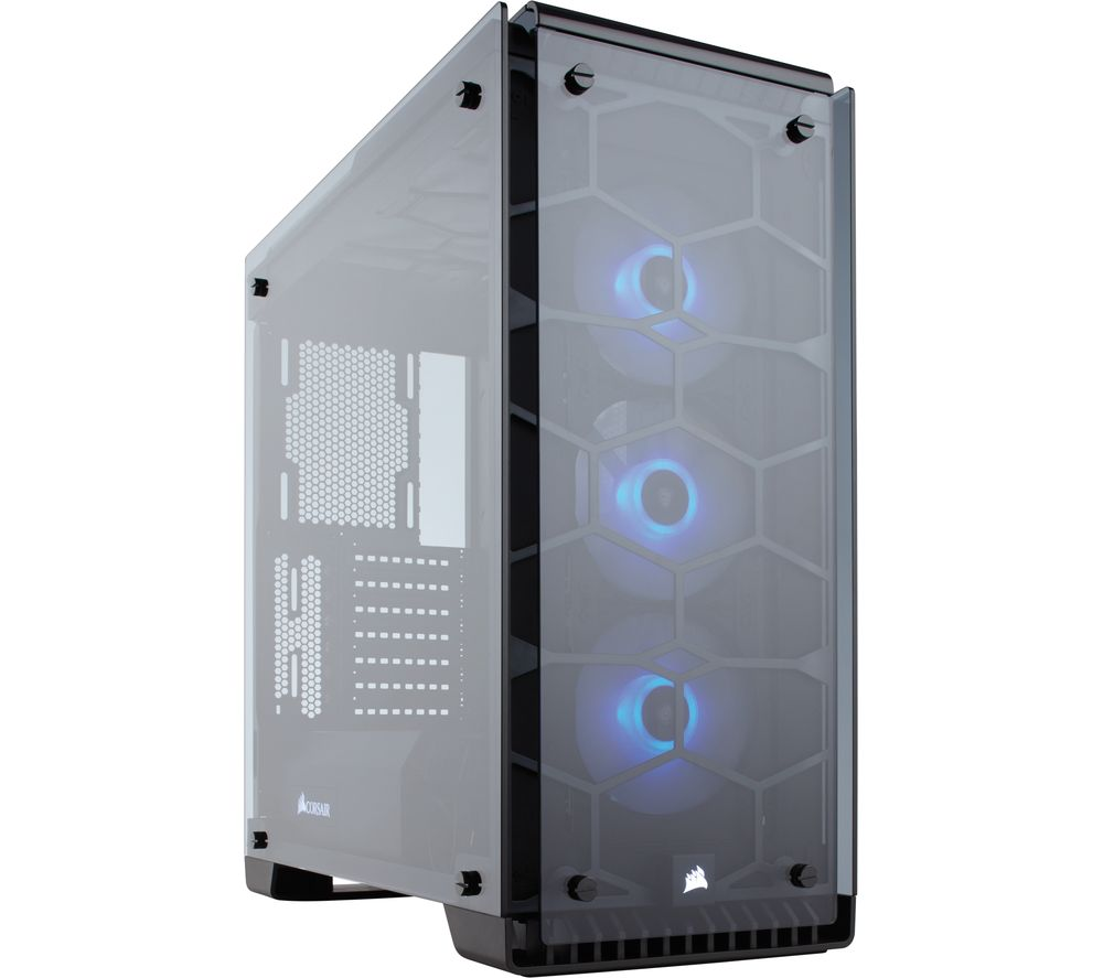 Image of CORSAIR Crystal Series 570X RGB Mid-Tower ATX PC Case