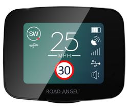 "ROAD ANGEL PURE 2.4"" Speed Camera Detector"