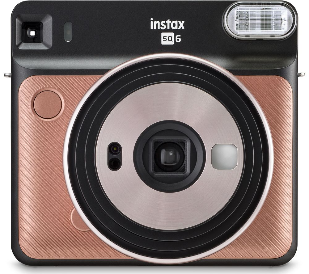 INSTAX SQ6 Instant Camera - Gold