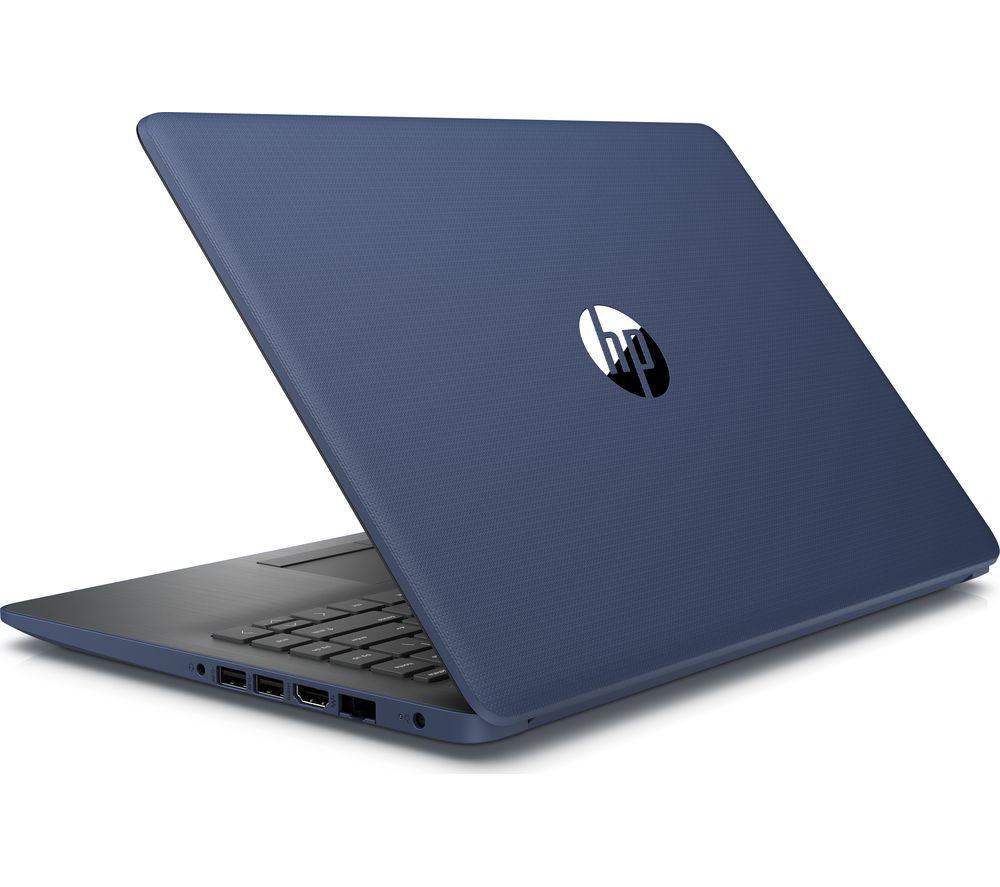 """HP 14"""" AMD Ryzen 3 Laptop - 128 GB SSD, Blue"""