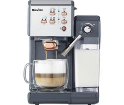 BREVILLE One-Touch VCF109 Coffee Machine - Graphite Grey & Rose Gold