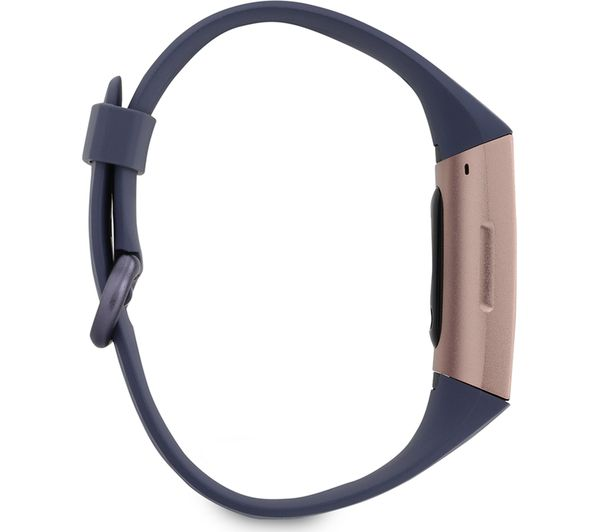 FITBIT Charge 3 - Blue Grey & Rose Gold, Universal