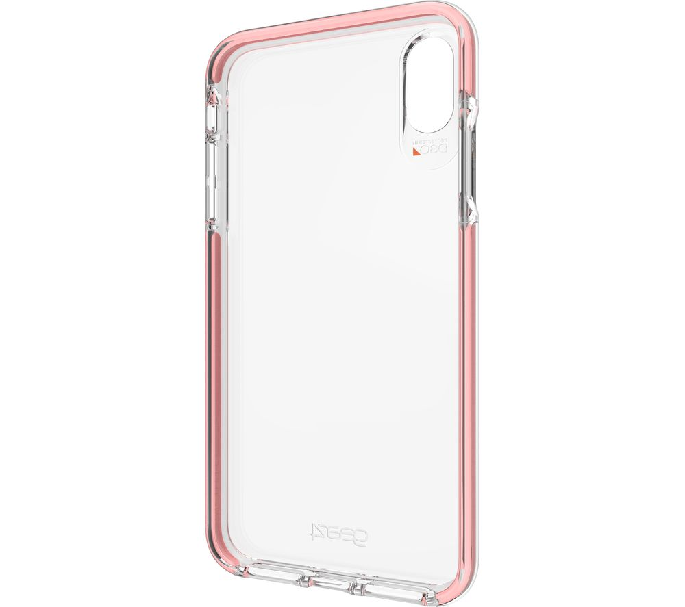 best sneakers 999d0 408f7 GEAR4 Piccadilly iPhone XS Max Case - Rose Gold