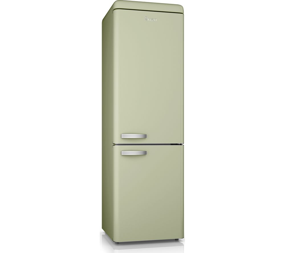 SWAN SR11020GN 70/30 Fridge Freezer - Green