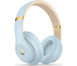 BEATS Studio 3 Wireless Bluetooth Noise-Cancelling Headphones - Crystal Blue
