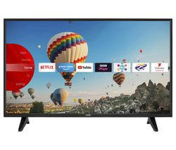 "LOGIK L43UE19 43"" Smart 4K Ultra HD HDR TV"