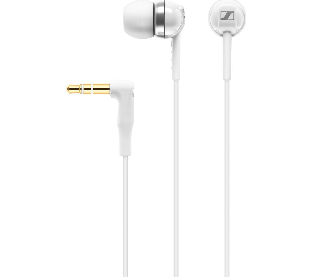 CX 100 Earphones - White