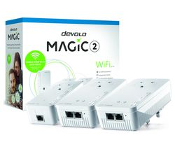 DEVOLO 8393 Magic 2 WiFi Powerline Adapter Kit - Triple Pack