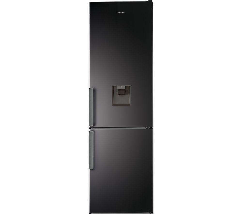 HOTPOINT Day1 H7T 911A KS H AQUA 70/30 Fridge Freezer - Black