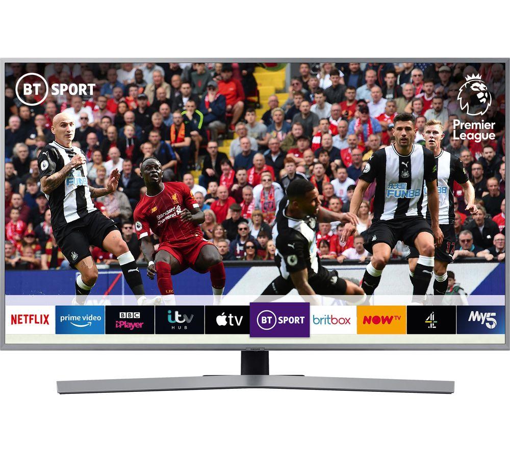 "SAMSUNG UE43RU7470UXXU 43"" Smart 4K Ultra HD HDR LED TV with Bixby"