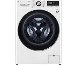 LG TurboWash 360 with AI DD V9 F4V909WTS WiFi-enabled 9 kg 1400 Spin Washing Machine - White