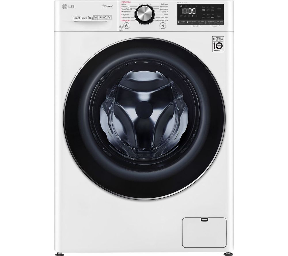 LG Vivace F4V909WTS WiFi-enabled 9 kg 1400 Spin Washing Machine - White