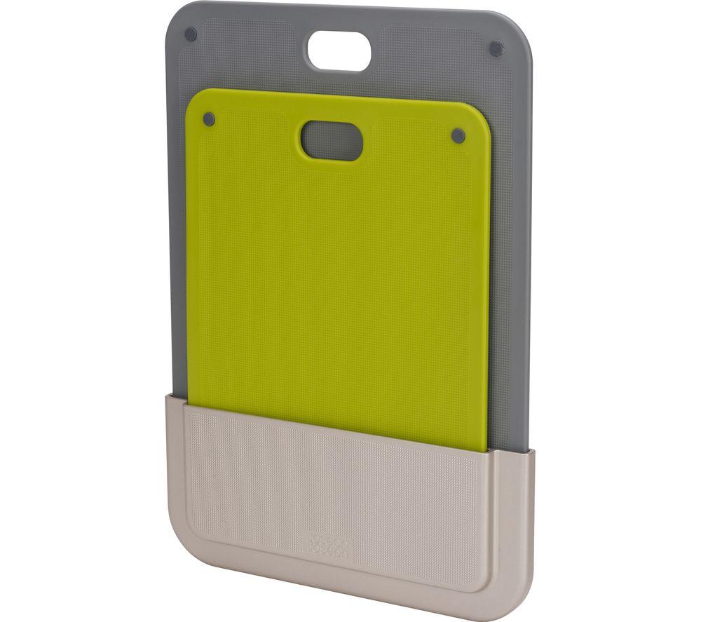 Image of DoorStore 2-piece Chopping Board Set - Green & Grey, Green