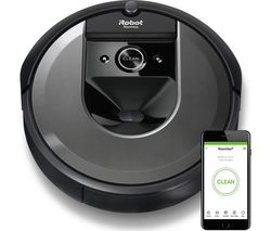 Roomba I7558+ Robot Vacuum Cleaner - Charcoal