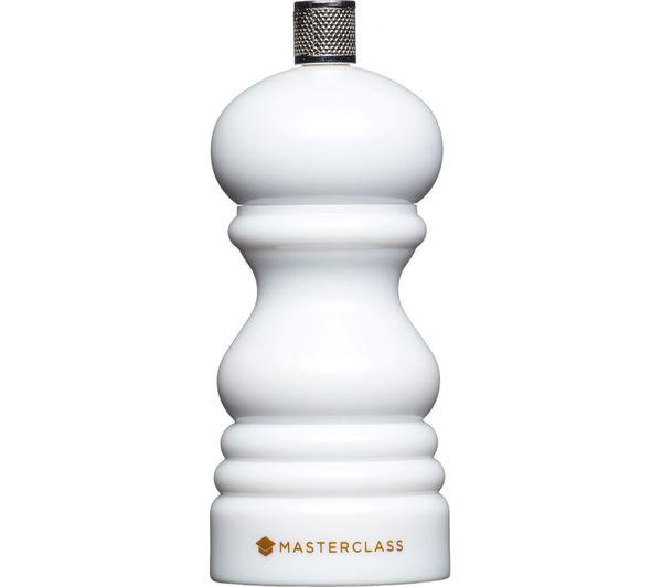 Image of MASTERCLASS 12 cm Salt or Pepper Mill - White