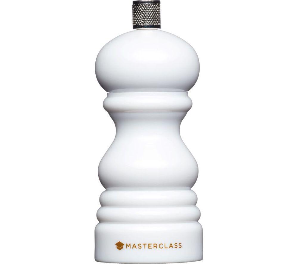 Image of 12 cm Salt or Pepper Mill - White, White