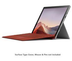 "MICROSOFT 12.3"" Intel® Core™ i7 Surface Pro 7 - 256 GB SSD, Platinum"