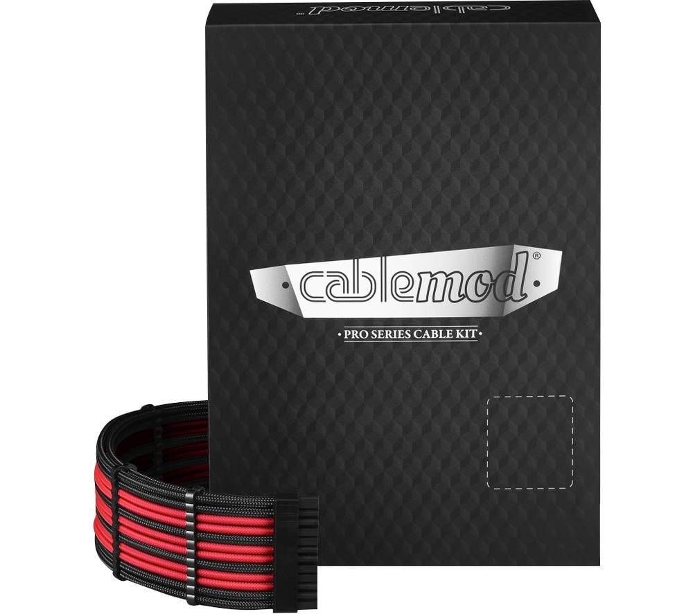 CABLEMOD ModMesh C-Series Corsair AXi HXi RM Cable Kit - Black & Red