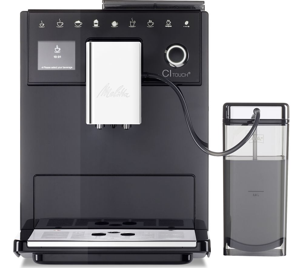 Image of CI Touch F630-102 Bean to Cup Coffee Machine - Black, Black