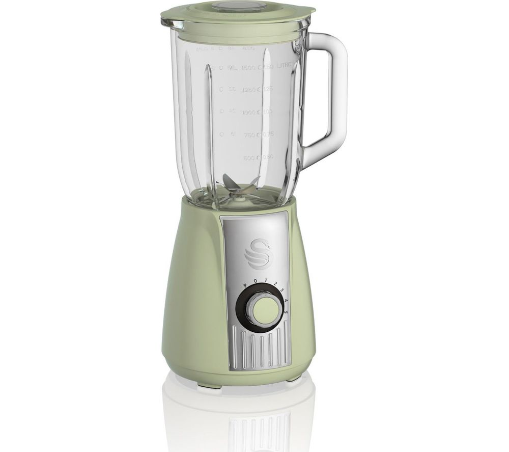 Image of Retro SP20180GN Blender - Green, Green